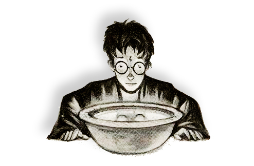 Harry Potter and the Pensieve